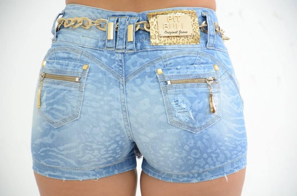 Shorts saia jeans para o veru00e3o | Ideias Mix
