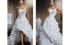 Fique Linda no seu Casamento com os Mais Belos Modelos de Vestidos de Noivas com Babados