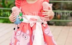 Deixe sua Filha Linda e Estilosa com um dos Belos Modelos de vestidos Peppa Pig