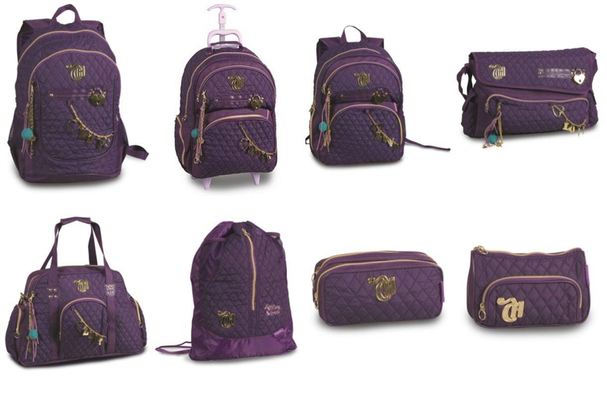 Bolsa Escolar Feminina Tilibra : Confira as mais belas bolsas femininas capricho ideias mix