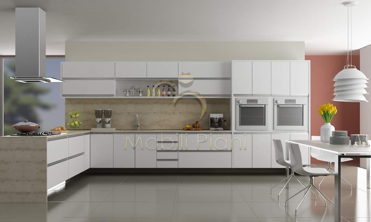 Confira Dicas Para Uma Cozinha Planejada Grande Moderna Ideias Mix