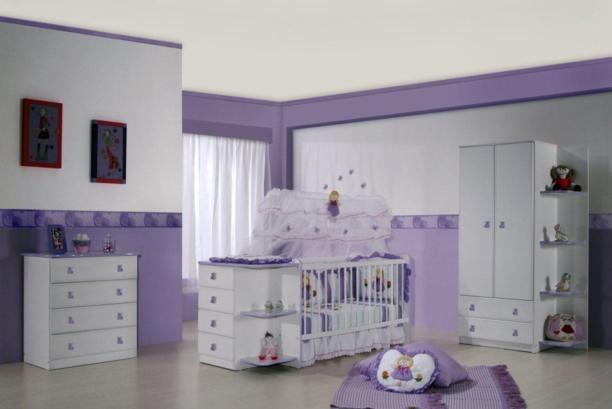 decoracao moveis branco:Confira as Melhores Dicas de Decoração para Quarto de Bebê Feminino