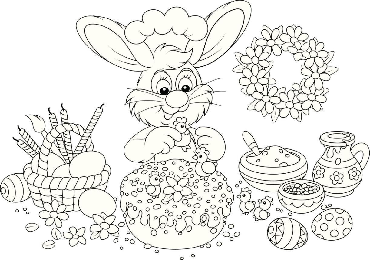 Veja As Melhores Dicas De Desenhos De Pascoa Para Colorir