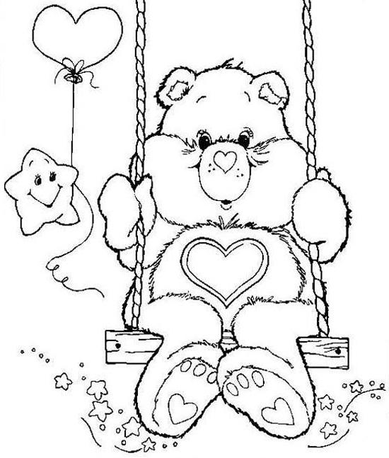 Desenhos Para Colorir Dos Ursinhos Carinhosos Ideias Mix