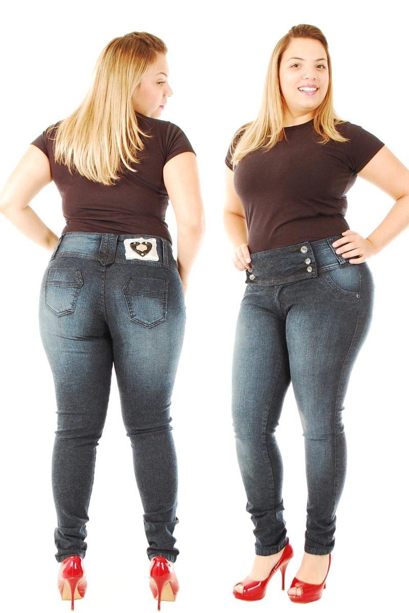 Veja Os Belos Modelos De Cal 231 As Jeans Plus Size Feminina