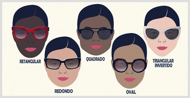 21b65f7b99458 Confira Dicas de Óculos de Sol Para Cada Tipo de Rosto