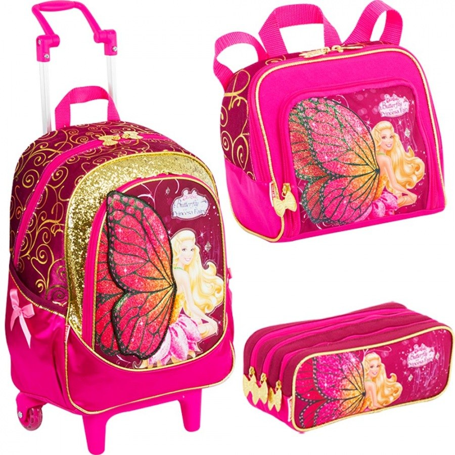 ... Belas Mochilas Escolares da Barbie Para Volta as Aulas | Ideias Mix