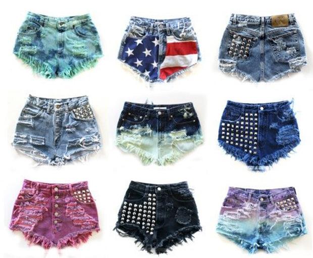 Veja Belos Modelos de Shorts Jeans Destroyed da Moda Atual