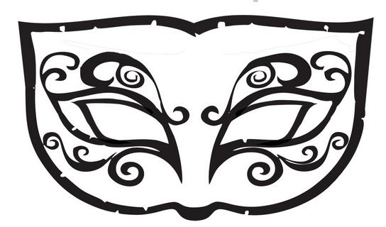 Dicas Moldes De Mascaras Para Carnaval Para Imprimir Ideias Mix