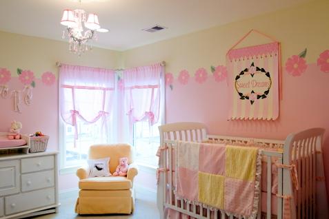 Confira as melhores dicas de decora o para quarto de beb feminino ideias mix for Pastel pink and yellow bedroom