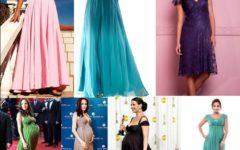 Lindos Modelos de Vestidos de Festa para Gestantes