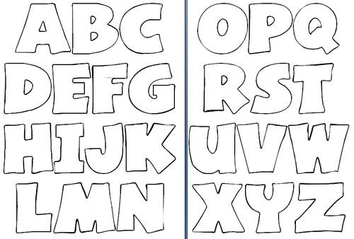 Confira Dicas de Alfabeto para Imprimir | Ideias Mix