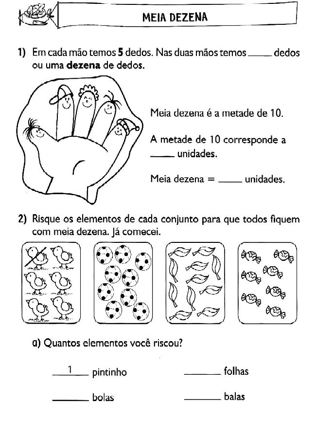 Atividades De Matemática De 3 Ano Do Ensino Fundamental Para