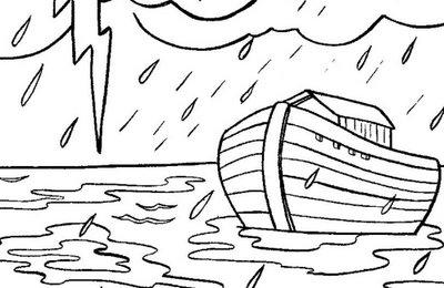 Desenhos Biblicos Para Colorir Da Arca De Noe Ideias Mix