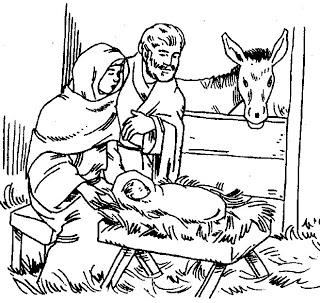 Desenhos Biblicos Para Colorir Do Nascimento De Jesus Ideias Mix