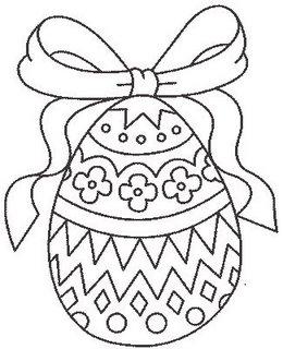Dicas De Desenhos De Ovos De Pascoa Para Colorir E Imprimir