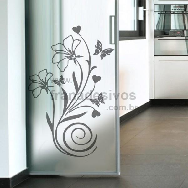 Confira Belos Adesivos Decorativos Para Portas De Vidro