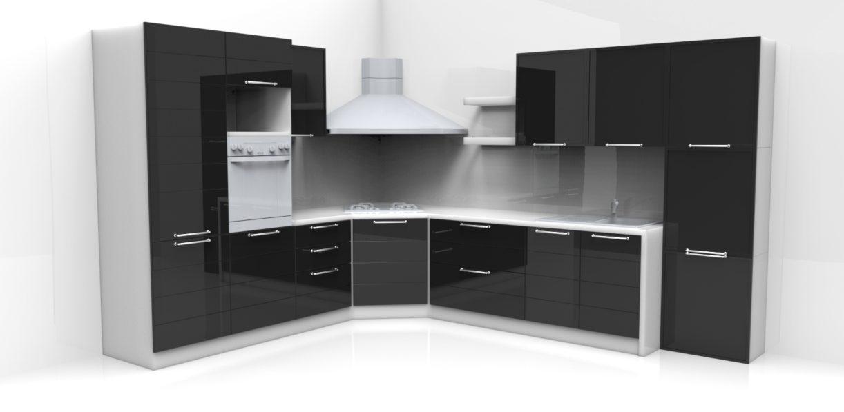 Veja os melhores modelos de projetos de cozinhas sob medida que vai  #61646A 1600 782