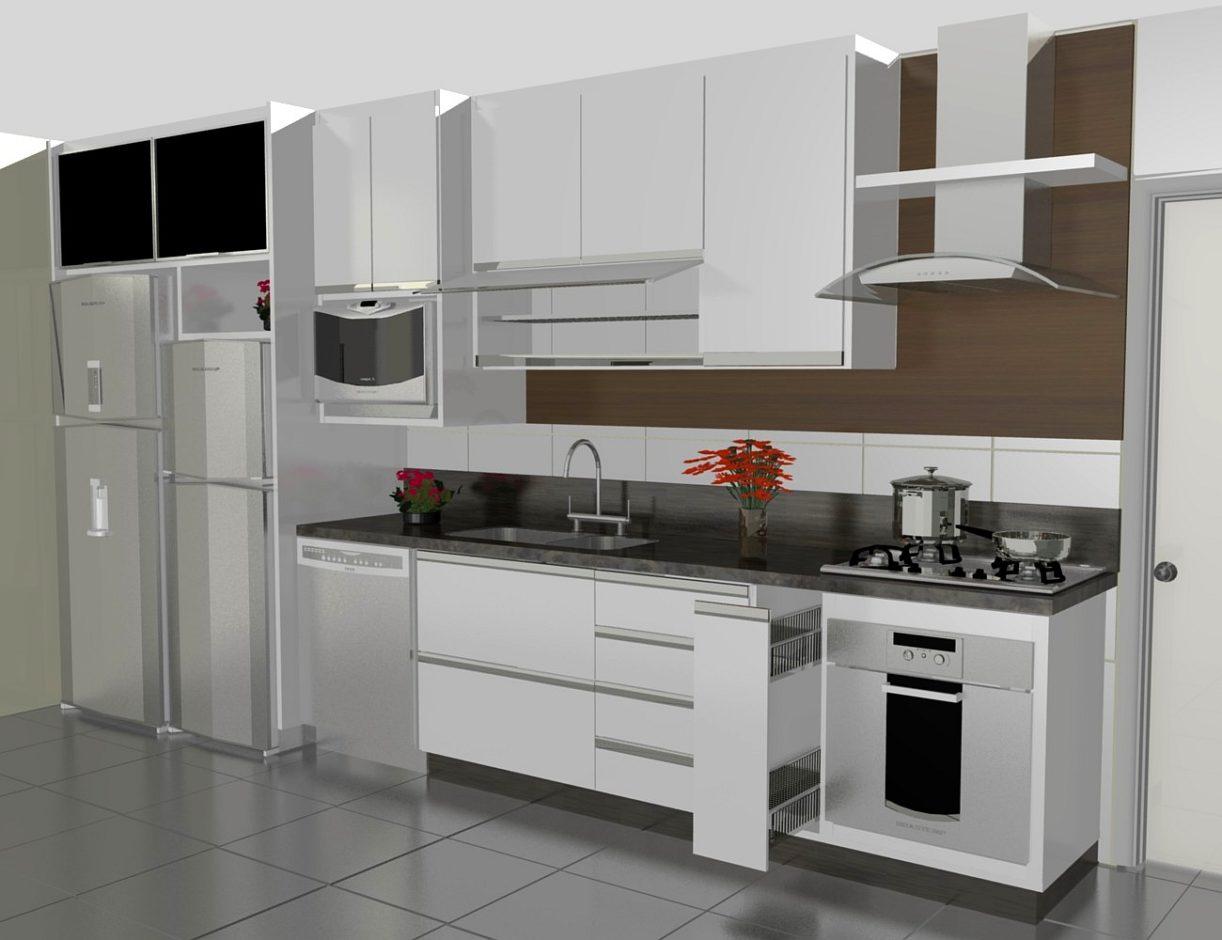 Confira Modelos de Projetos de Cozinhas Sob Medida Ideias Mix #5D4839 1300 1000