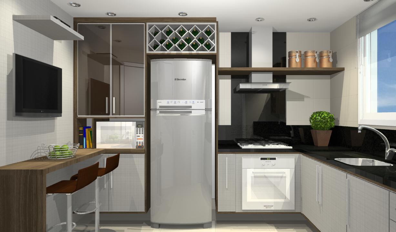 Armario De Cozinha Sob Medida : Armario de cozinha pequena sob medida beyato