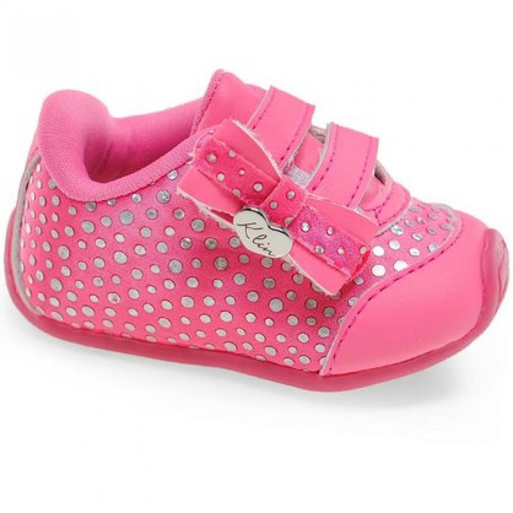 tênis e calçados infantil feminino klin