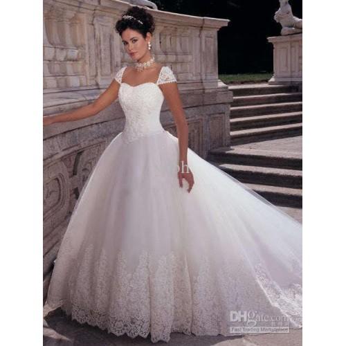 confira belos vestidos de noivas estilo princesa ideias mix