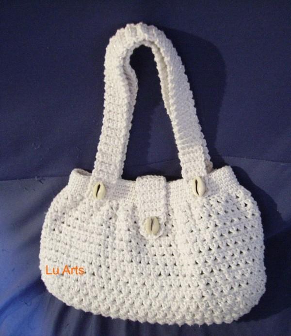 Bolsa De Ombro De Croche : Confira as belas bolsas de croch? com gr?ficos ideias mix