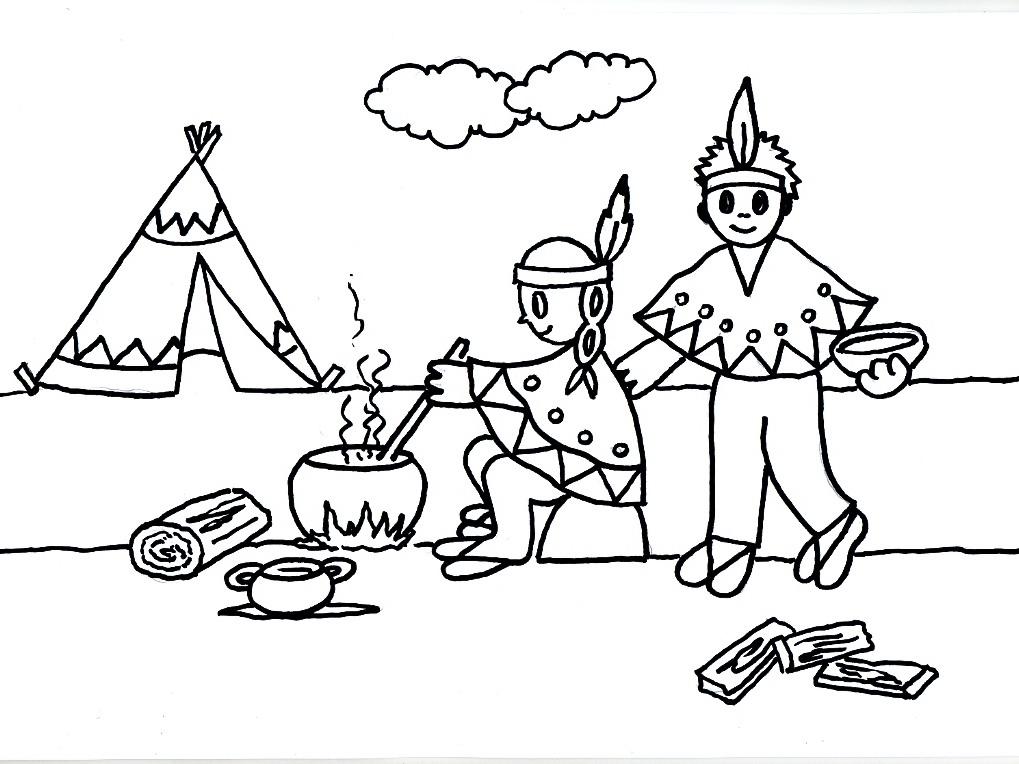 Desenhos Do Dia Do Indio Para Imprimir 6 Ideias Mix