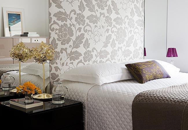 Dicas de papel de parede para quarto de casal decorativo - Papel para paredes decorativo ...