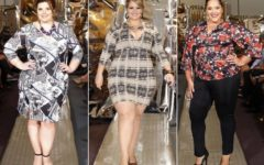 Roupas da Moda Inverno Plus Size 2016