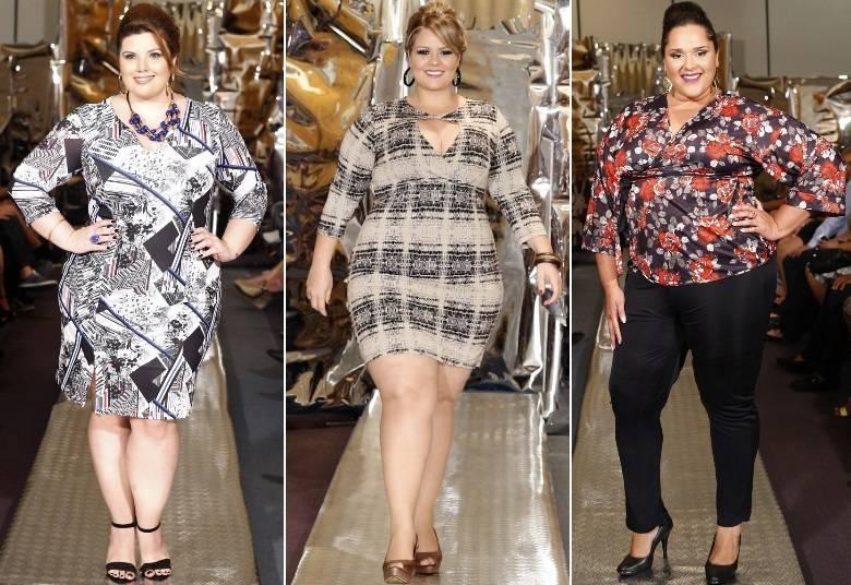 modelos da moda inverno plus size 2015