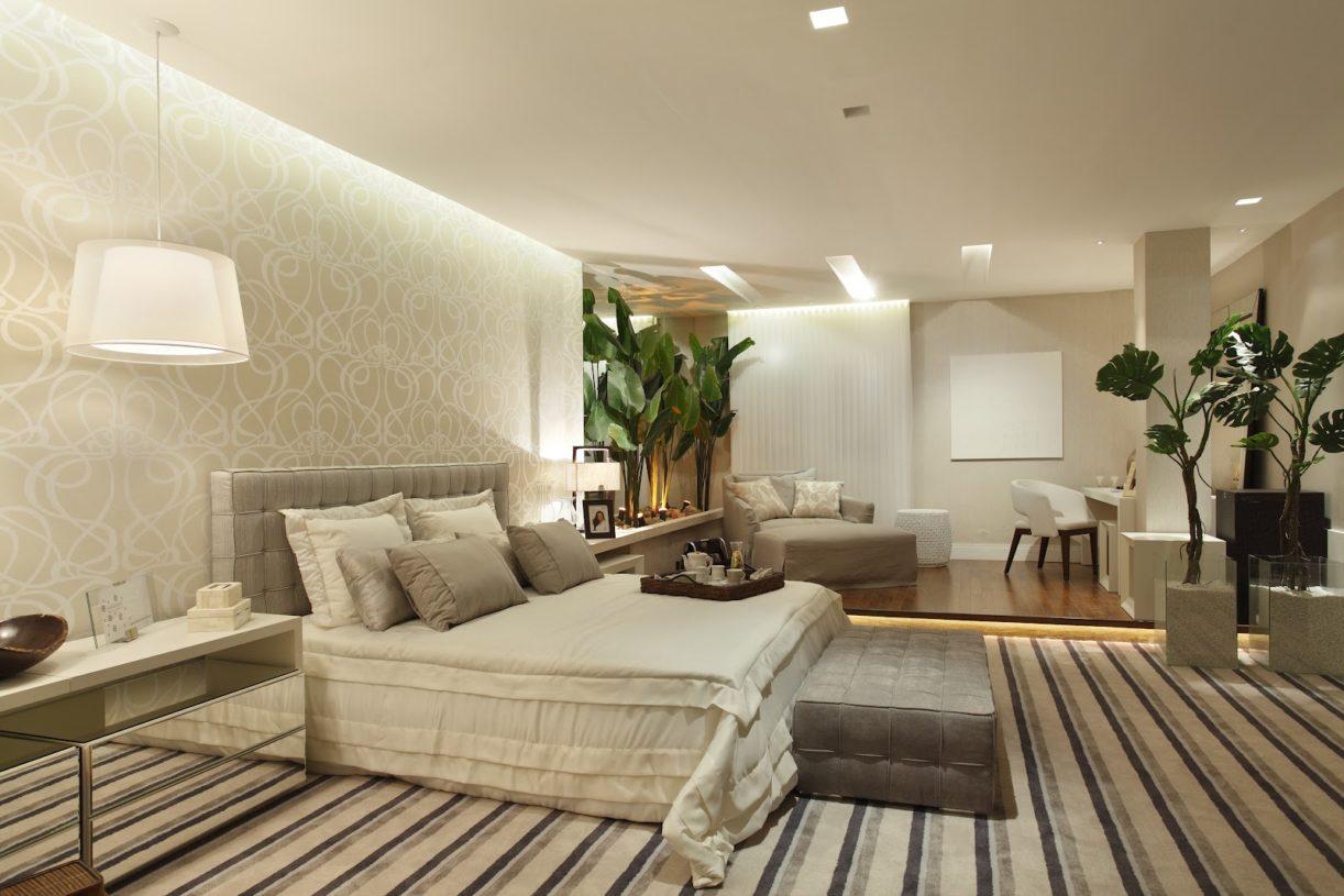 Dicas de papel de parede para quarto de casal decorativo for Quadros dormitorio