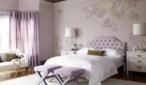 papel de parede para quarto de casal floral