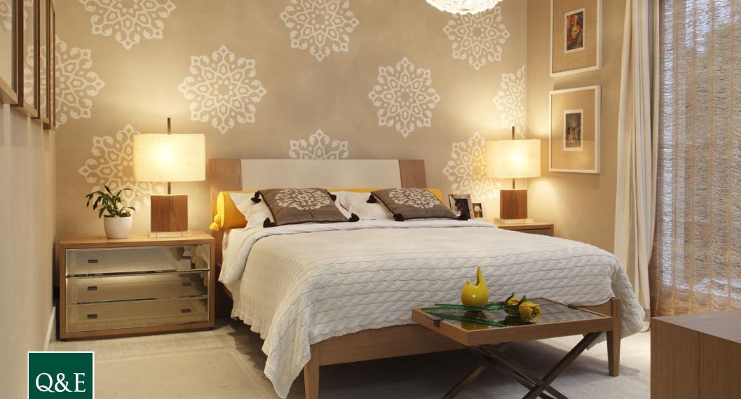 Dicas de papel de parede para quarto de casal decorativo ideias mix - Papel para paredes decorativo ...
