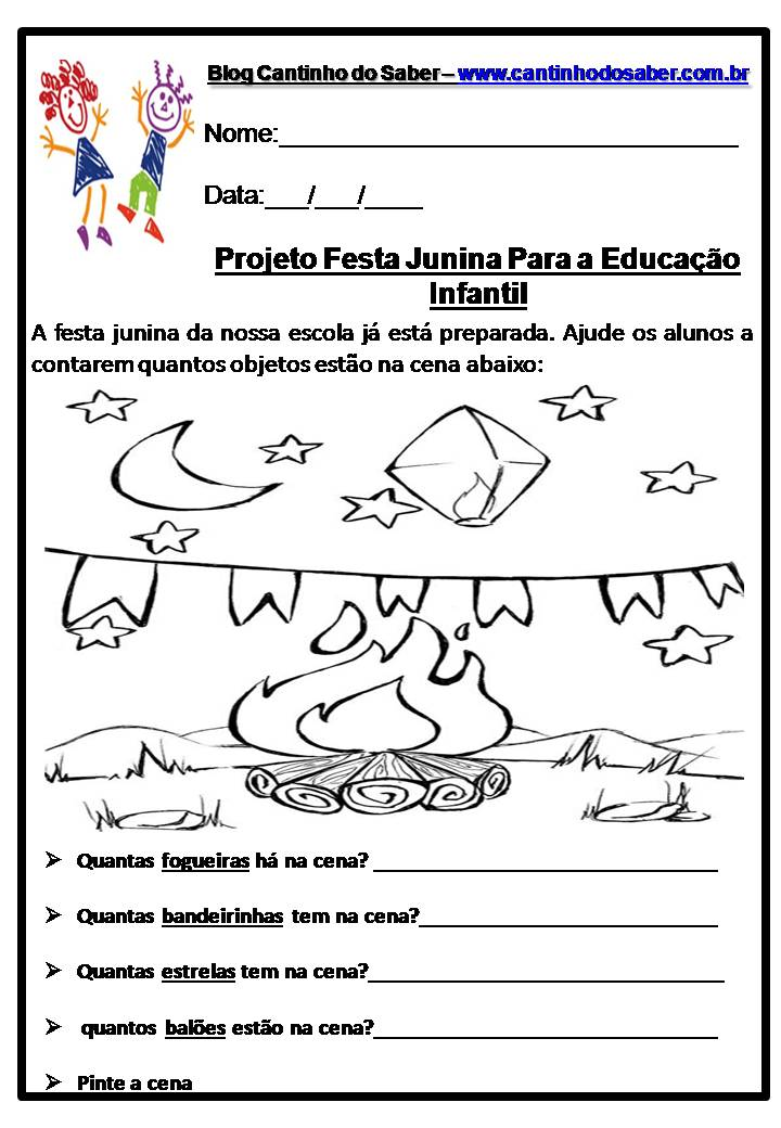 Atividades De Festa Junina Para Ensino Fundamental 5 Ideias Mix