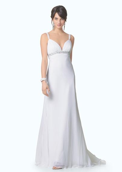 Vestido simples para casar na igreja