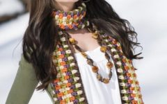 Confira Modelos de Cachecol de Crochê feminino da Moda Inverno