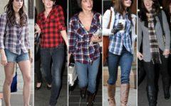 Modelos de Camisas Xadrez Femininas da Moda
