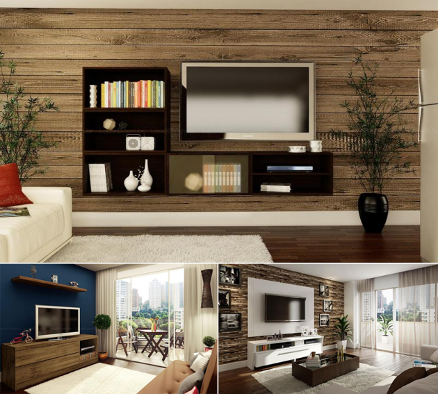 Sala Pequena Com Nicho ~ Confira os melhores modelos de racks para sala de estar que vai fazer
