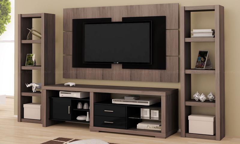 Sala De Estar Com Tv ~ racks para sala de estar com tv