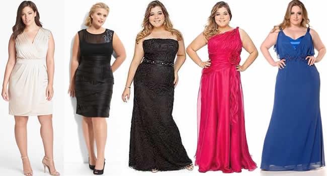 vestidos de formatura plus size