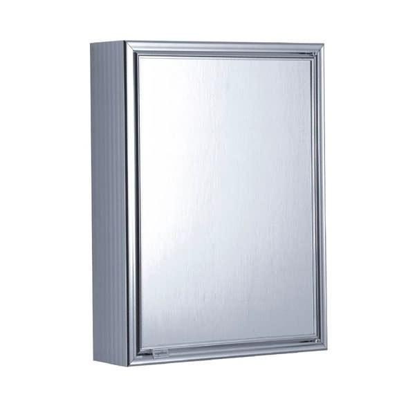 Confira Modernos Armários com Espelhos para Banheiro  Ideias Mix -> Armario De Banheiro Inox