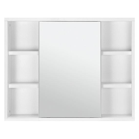 Confira Modernos Armários com Espelhos para Banheiro  Ideias Mix -> Armario De Banheiro De Parede Com Espelho