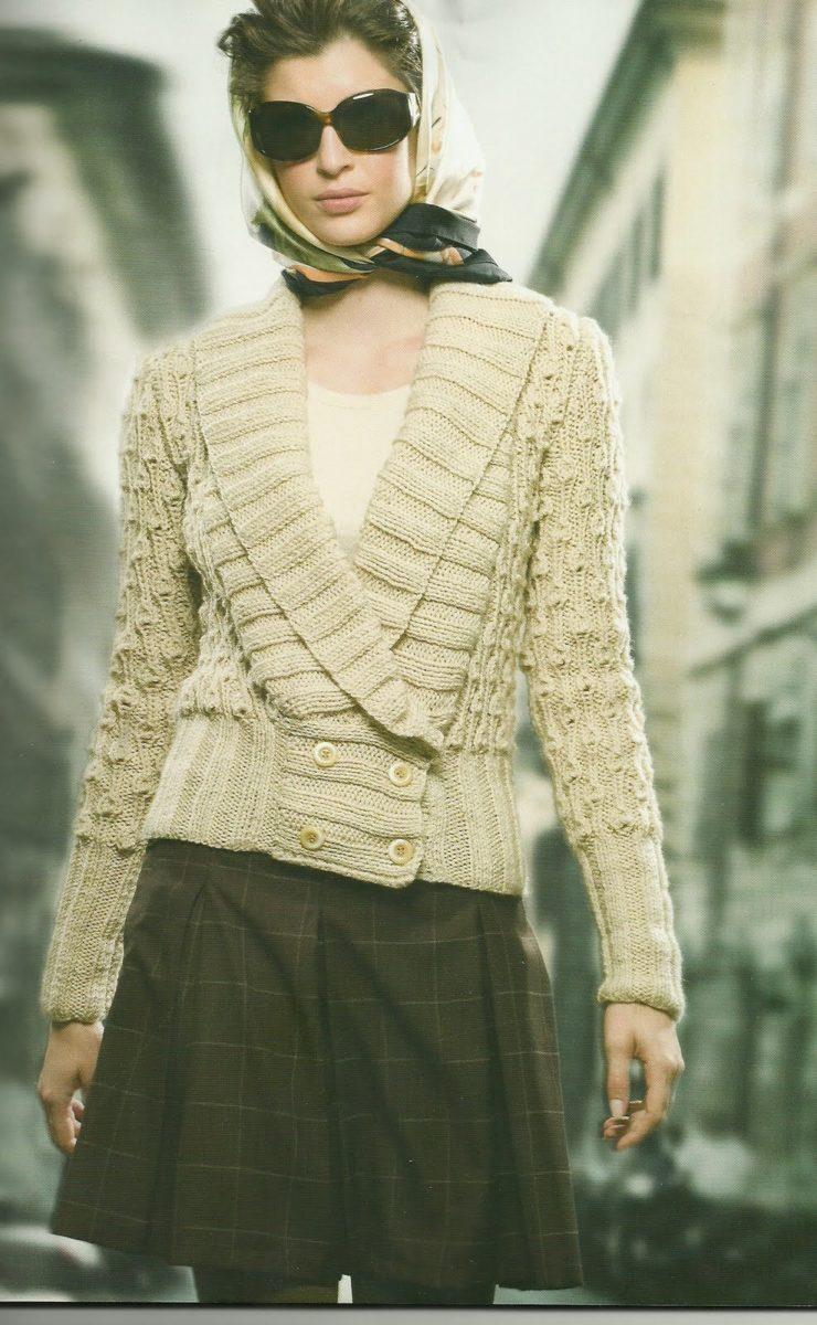 Confira Belos Modelos de Jaquetas de Tricô da Moda Inverno
