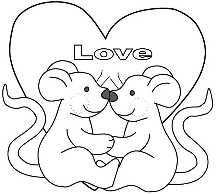 Confira Dicas De Desenhos De Dia Dos Namorados Para Imprimir