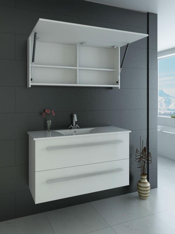 Armário De Banheiro Com Espelho ~ Confira Modernos Armários com Espelhos para Banheiro Ideias Mix