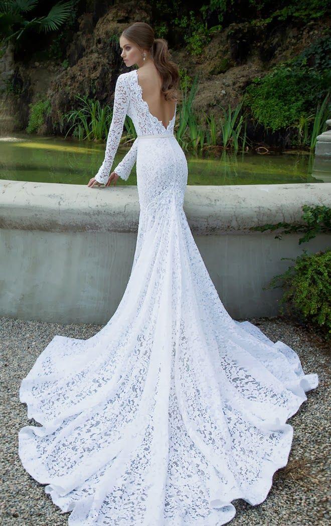imagens de vestido de noivas estilo sereia