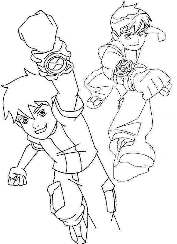 Tipos de Desenhos do Ben 10 para Colorir e Imprimir ...