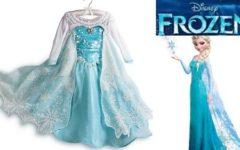 Veja Belos Vestido Infantil Elsa Frozen de Festa