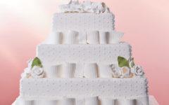 Veja Fotos de Lindos Bolos Quadrados para Casamento